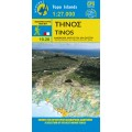 Tinos • Hiking map 1:27.000