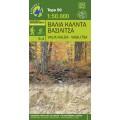 Valia Kalda • Hiking map 1:50000