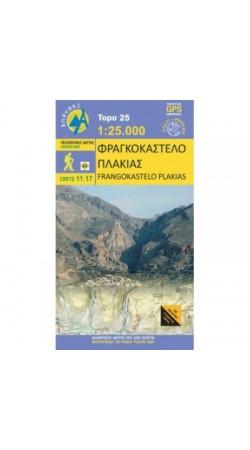 Fragkokastelo - Plakias • Hiking map 1:25.000