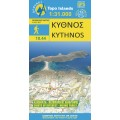 Kythnos • Hiking map 1:31.000