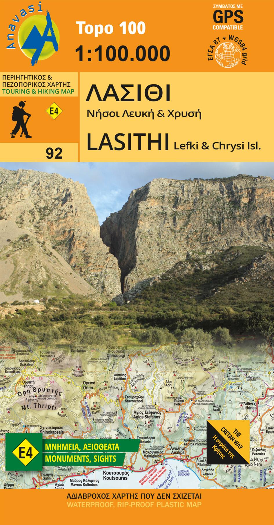 Lasithi and Lefki & Chrysi islands [92]