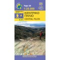 Central Pilion • Hiking map 1:25 000