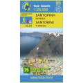 Santorini • Hiking map 1:25 000