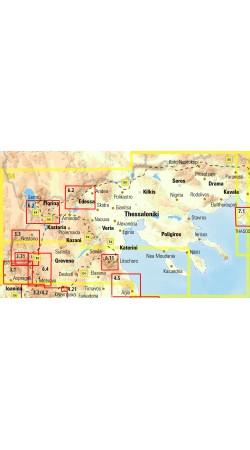 Macedonia • Road map 1:230 000