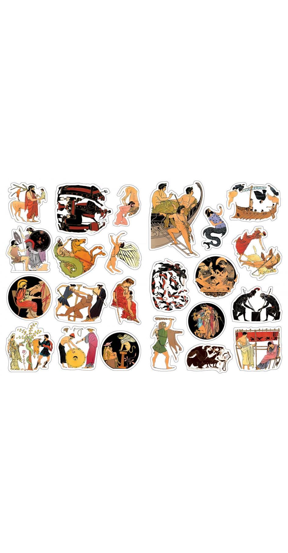 Greek Mythology, Sticker book