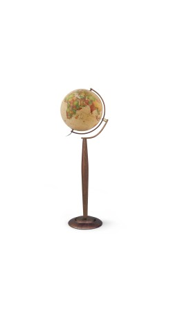 Globe antique 37 cm floor standing globe